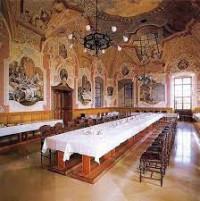 barokk ebédlő - Pannonhalma