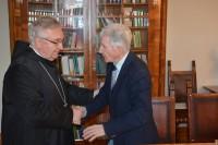 2016- Dr. Gerő Gyula és Dr. Várszegi Asztrik a Gerő Éva Alapról szóló megállapodás aláírásakor