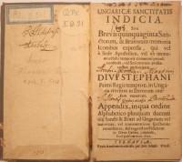 Hevenesi- Ungaricae sanctitatis