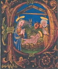 Inicuálé a Pécsi Misekönyvből velence, 1499
